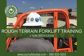 Rough Terrain Forklift TrainingC2