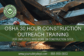 OSHA 30 Hour Construction Training